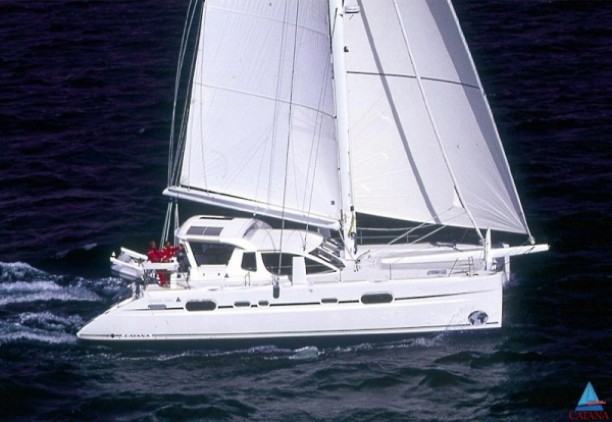Used Sail Catamaran for Sale 2005 Catana 52