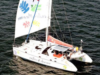 Used Sail Catamaran for Sale 1995 Privilege 51
