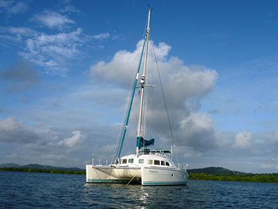 SOLD Lagoon 380  in Fort Lauderdale Florida (FL)  TRANQUILA  Preowned Sail
