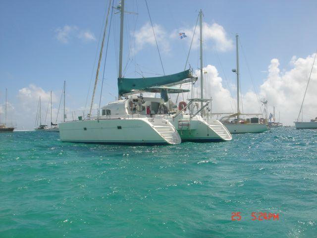 Used Sail Catamaran for Sale 2001 Lagoon 380