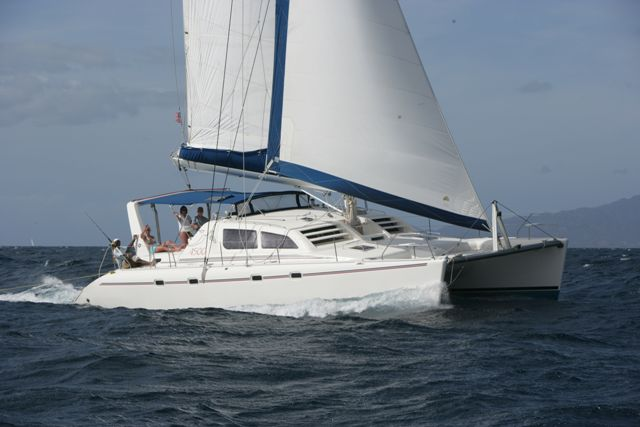 Preowned Sail Catamarans for Sale 2000 Leopard 4500
