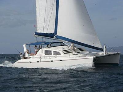 Catamarans PELICAN, Manufacturer: ROBERTSON & CAINE, Model Year: 2000, Length: 45ft, Model: Leopard 4500, Condition: Used, Listing Status: SOLD, Price: USD 239000