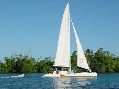 Catamaran for Sale Day Sail Charter 50  in Cancun Mexico NEXT WAVE  Preowned Sail