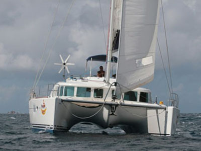 Catamarans VALHALLA, Manufacturer: LAGOON, Model Year: 2004, Length: 44ft, Model: Lagoon 440, Condition: USED, Listing Status: Catamaran for Sale, Price: USD 399000