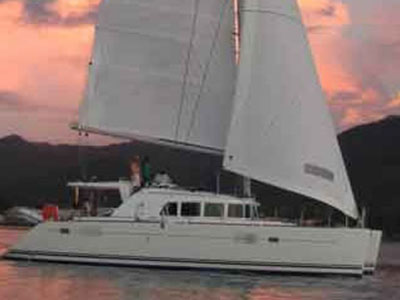 Catamarans CAJOU 1, Manufacturer: LAGOON, Model Year: 2007, Length: 44ft, Model: Lagoon 440, Condition: Used, Listing Status: SOLD, Price: EURO 242000