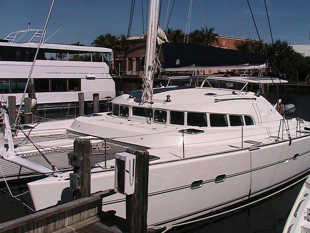 Preowned Sail Catamarans for Sale 2004 Lagoon 470