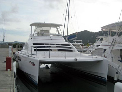 SOLD Leopard 47  in Road Town British Virgin Islands ROBERT B Thumbnail for Listing Preowned Power