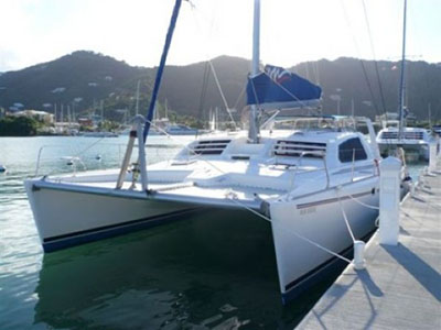 Catamarans NEVER SAY NEVER, Manufacturer: ROBERTSON & CAINE, Model Year: 2005, Length: 47ft, Model: Leopard 47, Condition: USED, Listing Status: SOLD, Price: USD 269000