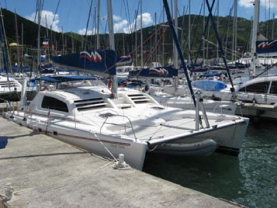 Catamarans GOOD TIMES, Manufacturer: ROBERTSON & CAINE, Model Year: 2004, Length: 47ft, Model: Leopard 47, Condition: Used, Listing Status: SOLD, Price: USD 279000