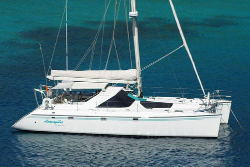Preowned Sail Catamarans for Sale 1995 Privilege 45