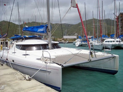 Catamarans BIGORNEAU, Manufacturer: FOUNTAINE PAJOT , Model Year: 2002, Length: 46ft, Model: Bahia 46, Condition: USED, Listing Status: SOLD, Price: USD 219000