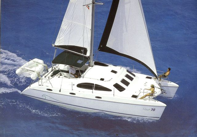 FOURTEEN Catamarans For Sale.  38 feet in length. 