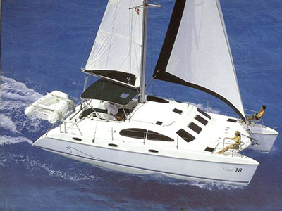 Catamarans KALAMUNDA, Manufacturer: PROUT, Model Year: 1998, Length: 38ft, Model: Prout 38, Condition: Preowned, Listing Status: Catamaran for Sale, Price: USD 115000