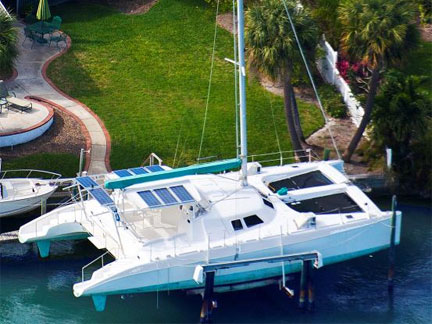 Preowned Sail Catamarans for Sale 1998 Ocean Cat