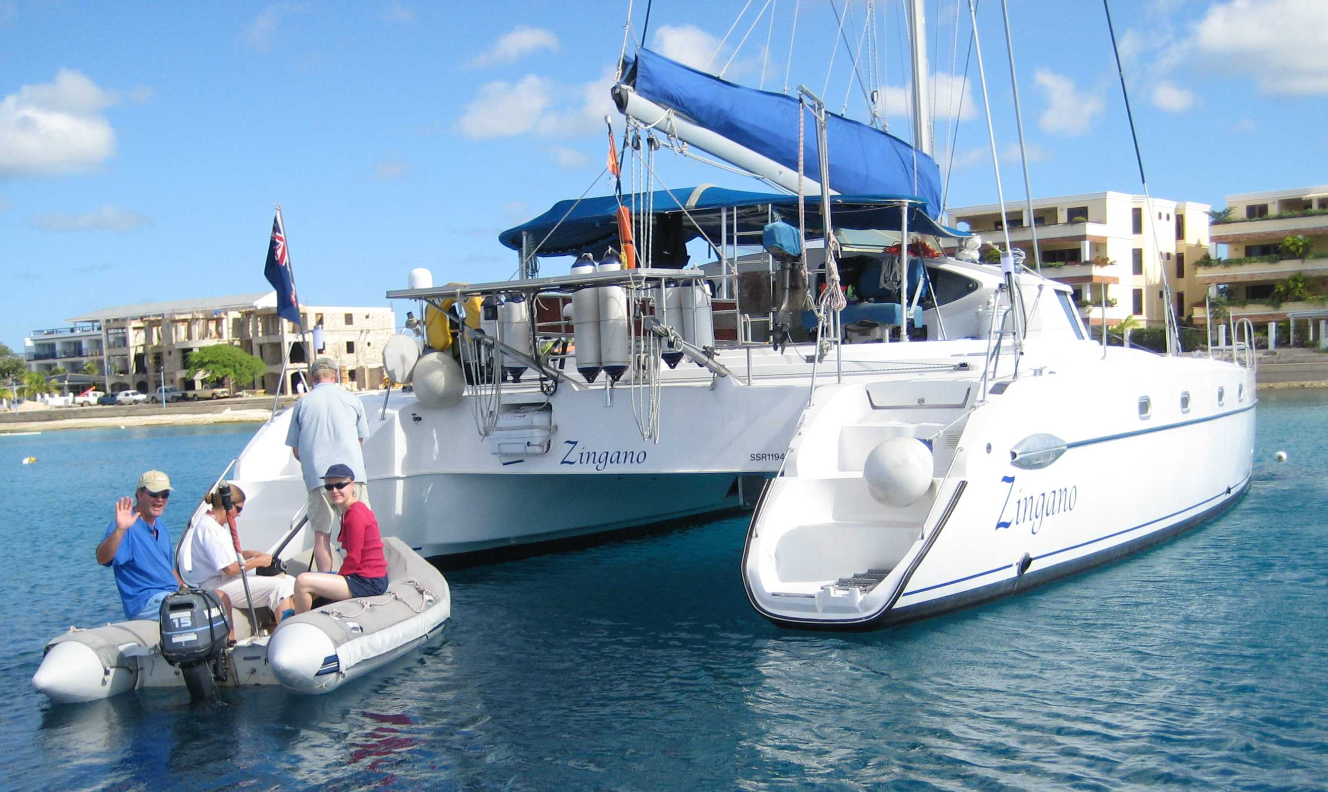 Preowned Sail Catamarans for Sale 2000 Belize 43