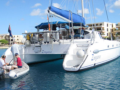 SOLD Belize 43  in Gibraltar Europe ZINGANO  Preowned Sail