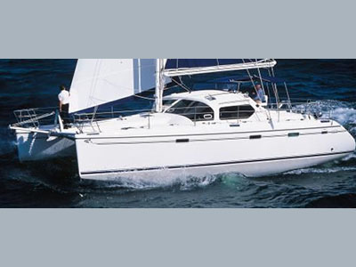Catamarans MELILLA, Manufacturer: ALLIAURA MARINE, Model Year: 2006, Length: 45ft, Model: Privilege 445, Condition: Used, Listing Status: Catamaran for Sale, Price: EURO 320000
