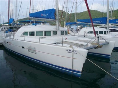 Catamarans SCHATSI, Manufacturer: LAGOON, Model Year: 2005, Length: 38ft, Model: Lagoon 380 S2, Condition: USED, Listing Status: SOLD, Price: USD 199000