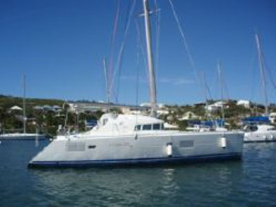 SOLD Lagoon 410  in St. Martin TORRIDON  Preowned Sail