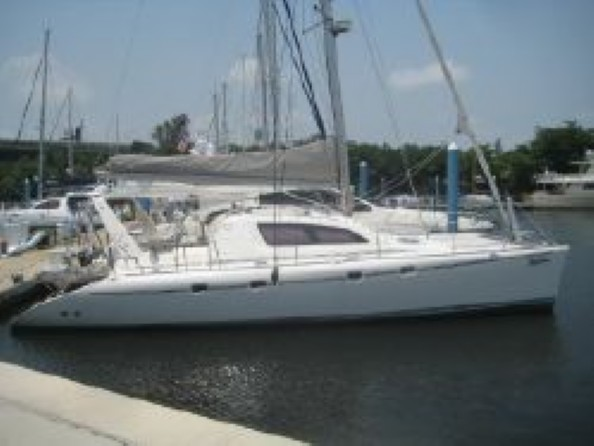 Preowned Sail Catamarans for Sale 2003 Leopard 47