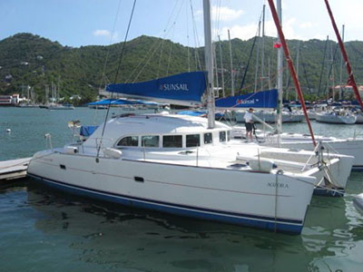 Catamarans AOZORA, Manufacturer: LAGOON, Model Year: 2003, Length: 38ft, Model: Lagoon 380, Condition: USED, Listing Status: SOLD, Price: USD 175000
