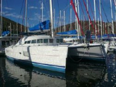 SOLD Lagoon 410  in Tortola British Virgin Islands WIND DANCER  Preowned Sail