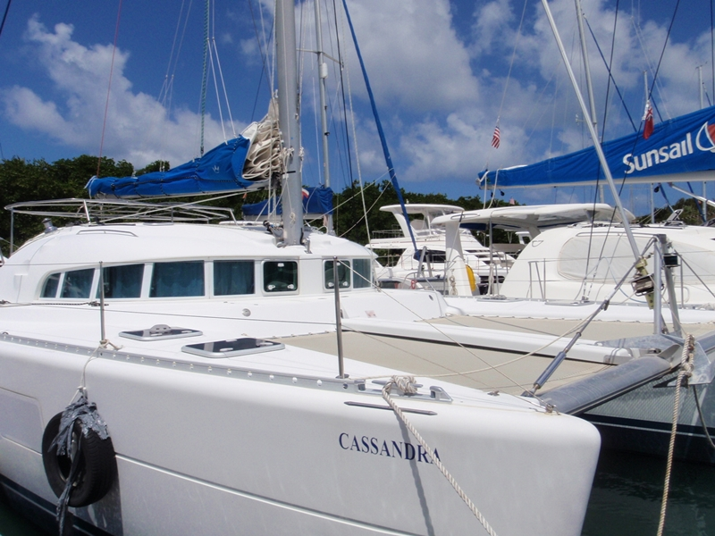 Catamarans CASSANDRA, Manufacturer: LAGOON, Model Year: 2005, Length: 41ft, Model: Lagoon 410, Condition: Used, Listing Status: Catamaran for Sale, Price: USD 235000