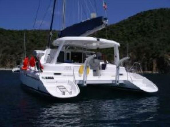 Used Sail Catamaran for Sale 2005 Leopard 43