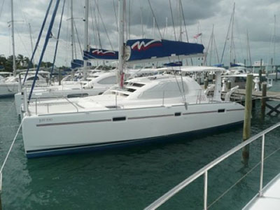 Catamarans JUST TOO, Manufacturer: ROBERTSON & CAINE, Model Year: 2008, Length: 40ft, Model: Leopard 40, Condition: Used, Listing Status: SOLD, Price: USD 269000