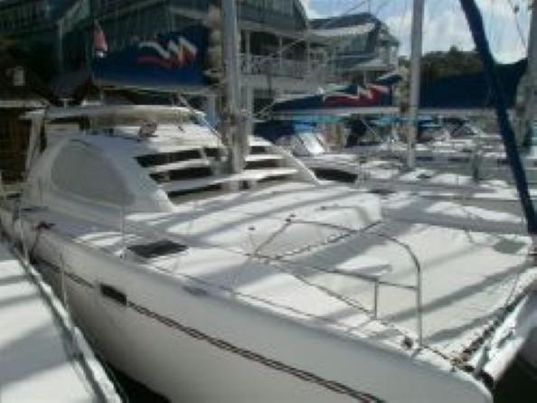 Used Sail Catamaran for Sale 2006 Leopard 40