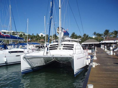 Catamarans L'ALBATROS, Manufacturer: ROBERTSON & CAINE, Model Year: 2006, Length: 40ft, Model: Leopard 40, Condition: Used, Listing Status: SOLD, Price: USD 225000