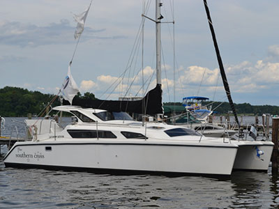 Catamarans SOUTHERN CROSS, Manufacturer: PERFORMANCE CRUISING, Model Year: 2005, Length: 34ft, Model: Gemini 105Mc, Condition: Preowned, Listing Status: Catamaran for Sale, Price: USD 99999