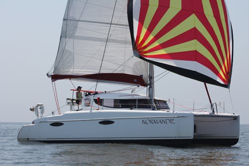 Preowned Sail Catamarans for Sale 2009 Mahe 36