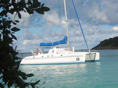 Catamarans QUASAR, Manufacturer: CATANA, Model Year: 1996, Length: 48ft, Model: Catana 48, Condition: Used, Listing Status: Catamaran for Sale, Price: USD 295000