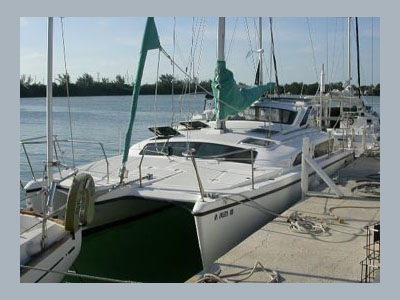 Catamarans NA NAI A KAULUA, Manufacturer: PERFORMANCE CRUISING, Model Year: 2000, Length: 34ft, Model: Gemini 105M, Condition: Used, Listing Status: SOLD, Price: USD 74900