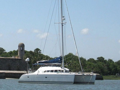 Catamarans NEVER FOR GRANTED, Manufacturer: LAGOON, Model Year: 2003, Length: 41ft, Model: Lagoon 410, Condition: Used, Listing Status: SOLD, Price: USD 299000
