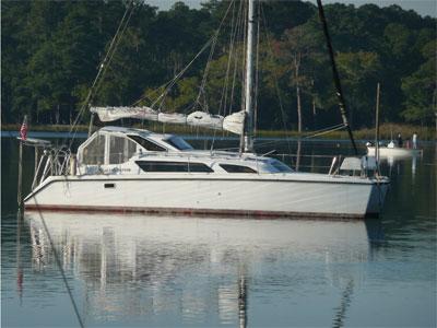 Preowned Sail Catamarans for Sale 2001 Gemini 105Mc