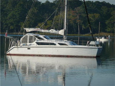 Catamarans T.S, Manufacturer: GEMINI CATAMARANS, Model Year: 2001, Length: 34ft, Model: Gemini 105Mc, Condition: Used, Listing Status: SOLD, Price: USD 98000