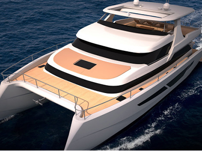 New Power Catamaran for Sale 2015 FlashCat 75