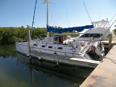 Catamarans ALLIE CAT, Manufacturer: ALLIAURA MARINE, Model Year: 1992, Length: 39ft, Model: Privilege 39, Condition: Used, Listing Status: SOLD, Price: USD 87500