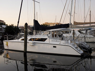 Catamarans SPONGE BOB, Manufacturer: GEMINI CATAMARANS, Model Year: 2012, Length: 34ft, Model: Gemini 105Mc, Condition: USED, Listing Status: SOLD, Price: USD 179000