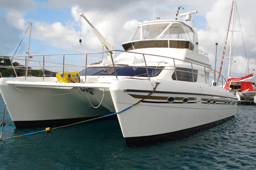 Catamarans NAUTICAT, Manufacturer: AFRICAT MARINE, Model Year: 2007, Length: 42ft, Model: Africat 420, Condition: Used, Listing Status: SOLD, Price: USD 499000