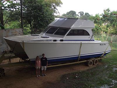 Catamarans MADELINE ROSE, Manufacturer: CUSTOM, Model Year: 2000, Length: 35ft, Model: SPORT FISHERMAN, Condition: Used, Listing Status: SOLD, Price: USD 110000