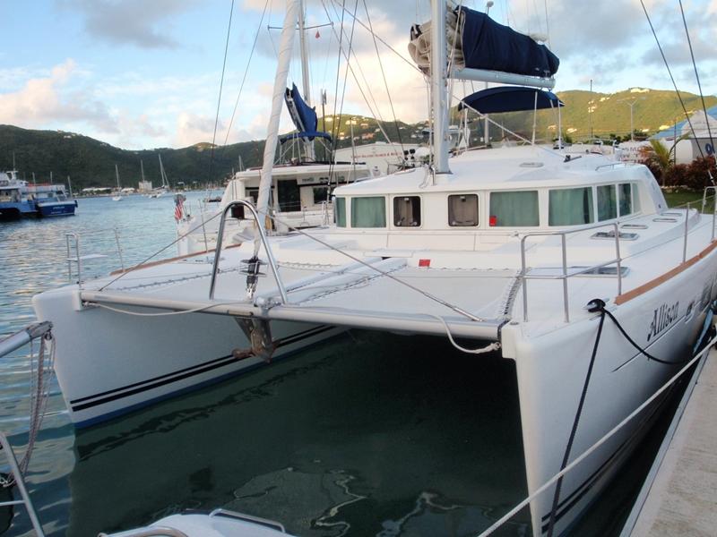 Preowned Sail Catamarans for Sale 2007 Lagoon 440
