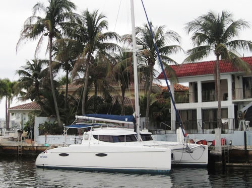 Used Sail Catamaran for Sale 2007 Mahe 36