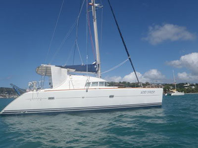 Catamarans WIND DANCER, Manufacturer: LAGOON, Model Year: 2003, Length: 41ft, Model: Lagoon 410, Condition: Used, Listing Status: SOLD, Price: USD 320000