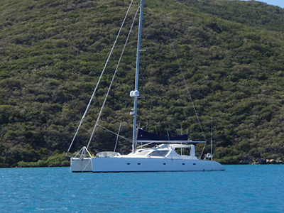 Catamarans LADY ANDREA, Manufacturer: VOYAGE YACHTS, Model Year: 2002, Length: 58ft, Model: Voyage 580, Condition: USED, Listing Status: Catamaran for Sale, Price: USD 675000