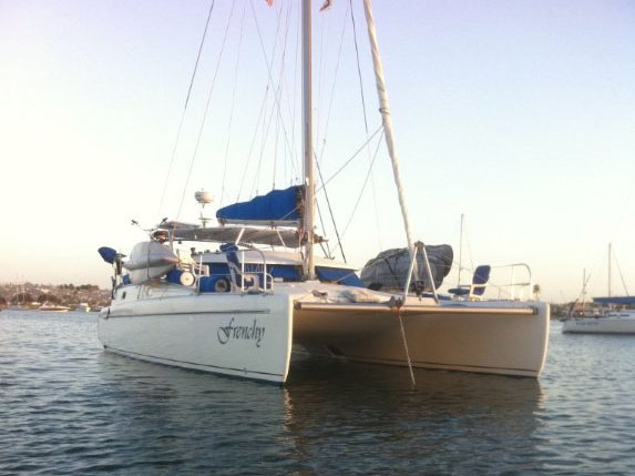 SOLD Tobago 35  in San Diego California (CA)  FRENCHY  Preowned Sail