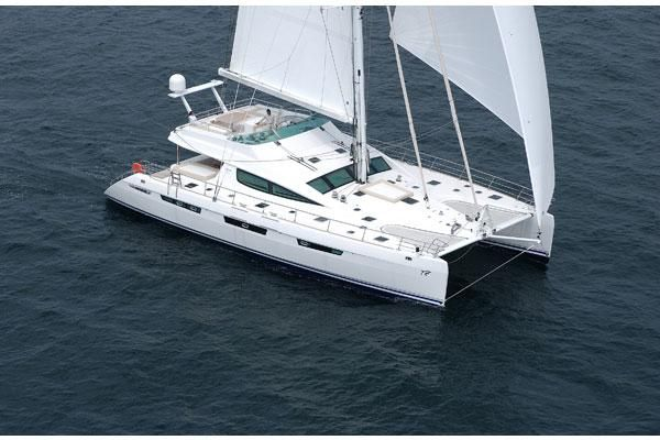 Catamarans MATAU, Manufacturer: ALLIAURA MARINE, Model Year: 2006, Length: 74ft, Model: Privilege 74, Condition: Used, Listing Status: Catamaran for Sale, Price: USD 3650000