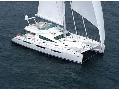 SOLD Privilege 74  in Road Town British Virgin Islands MATAU  Preowned Sail